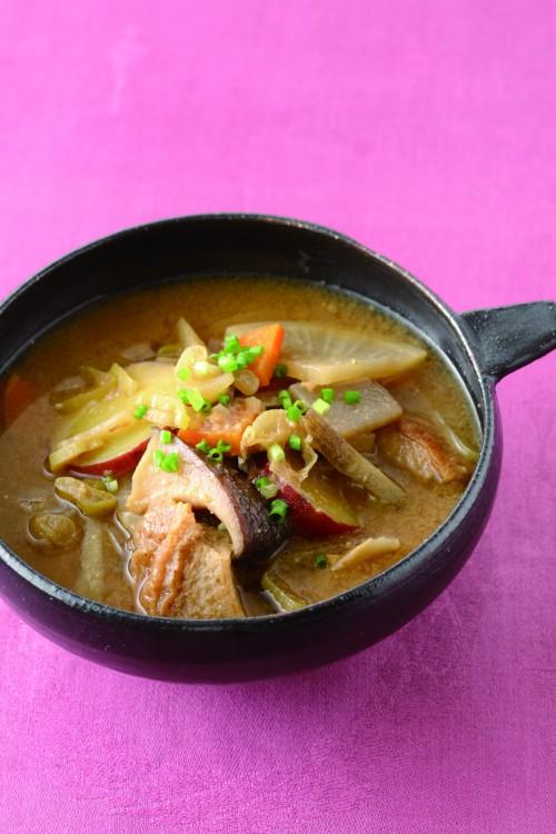 とん汁風味噌スープ